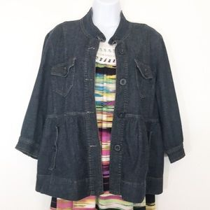 Bandolinoblu    Ladies Size Medium Jean Jacket